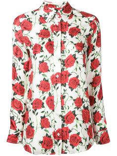 блузка с розами Alexander Wang