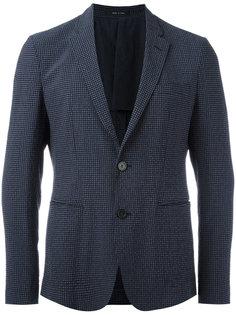 пиджак в клетку Emporio Armani