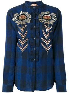 рубашка декорированная пайетками Nº21