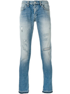 light-wash skinny jeans Cycle