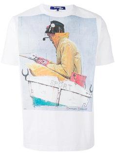 футболка с принтом Fisherman Junya Watanabe Comme Des Garçons Man