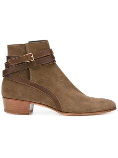 ботинки с пряжками Louis Leeman