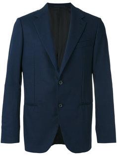 smart buttoned blazer Caruso