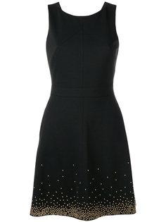 декорированное платье без рукавов  Versace Jeans