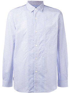 рубашка с мелким узором Junya Watanabe Comme Des Garçons Man