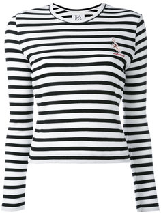 striped slim-fit jumper Zoe Karssen