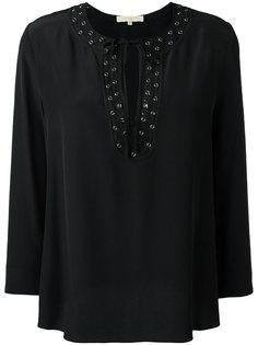 блузка с отделкой люверсами Vanessa Bruno