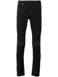 джинсы скинни с заниженной талией Saint Laurent