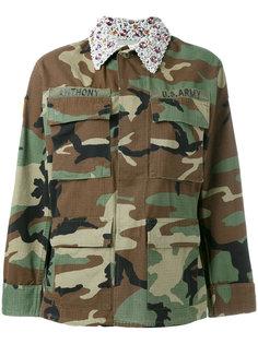 куртка с декорированным воротником Forte Couture