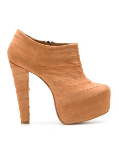 suede ankle boots Andrea Bogosian