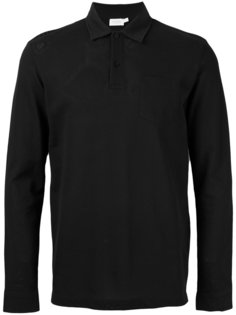 longsleeved polo shirt  Sunspel