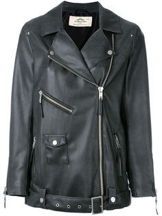 leather-effect jacket Urbancode