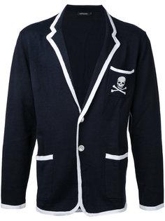 пиджак с принтом черепа Loveless