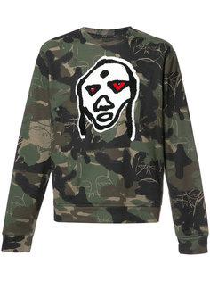 camouflage print sweatshirt  Haculla