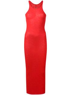 платье со спинкой-рейсер Rick Owens
