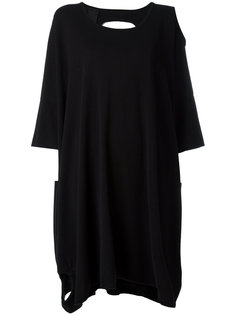 платье-толстовка с вырезами  Rundholz Black Label