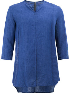 рубашка без воротника Kazuyuki Kumagai