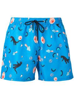 шорты для плавания с рисунком Paul Smith