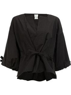 блузка с завязками на талии Maison Rabih Kayrouz