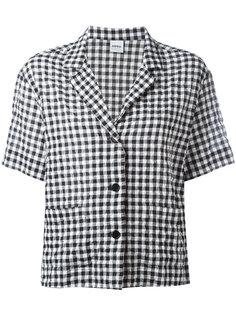 рубашка с короткими рукавами в клетку Aspesi