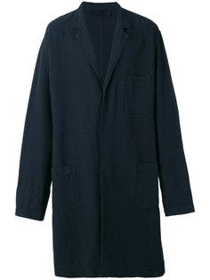пальто свободного кроя с поясом Haider Ackermann