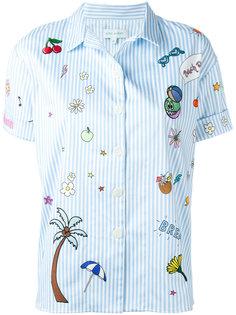 рубашка с нашивками Mira Mikati