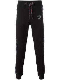спортивные брюки с камуфляжным принтом Plein Sport