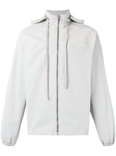 куртка с капюшоном  на молнии Rick Owens DRKSHDW