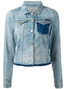 джинсовая куртка с необработанными краями Calvin Klein Jeans