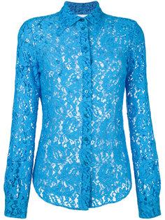 кружевная блузка Moschino