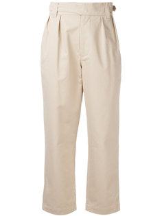 брюки с завышенной талией Maison Kitsuné