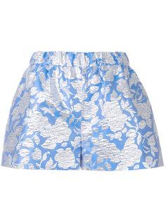 жаккардовые шорты с цветочным узором MSGM