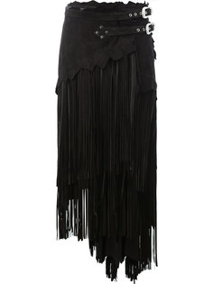 асимметричная юбка с бахромой Faith Connexion