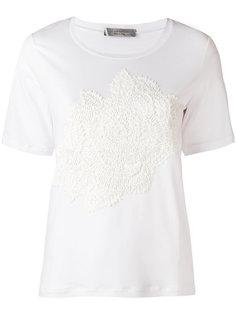 футболка с цветочной вышивкой D.Exterior