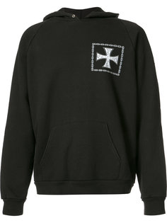 Erd Croix avec des Roses hoodie Enfants Riches Deprimes