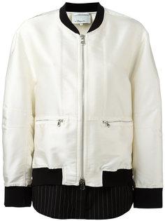 Куртка-бомбер с контрастным краем 3.1 Phillip Lim