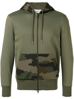 camouflage detail hoodie Moncler