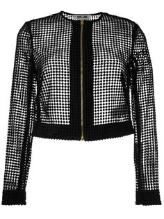 прозрачная куртка на молнии Diane Von Furstenberg