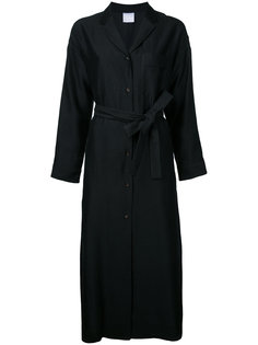 long sleeve belted shirt dress Cityshop