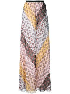 юбка с цветочным принтом Giamba