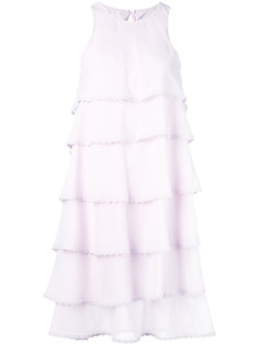 layered flared dress Blumarine