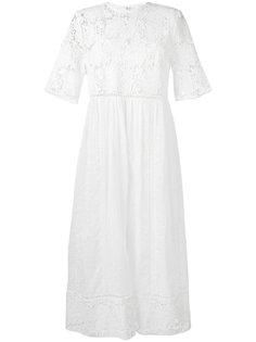 платье с вышивкой Caravan  Zimmermann