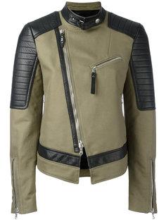 куртка со смещенной застежкой-молнией Diesel Black Gold