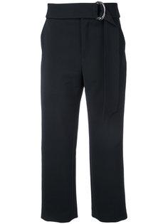 укороченные брюки с поясом Le Ciel Bleu