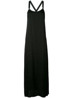 платье с бретельками в стиле комбинезона  Damir Doma