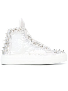 Angry mid-top trainers Philipp Plein