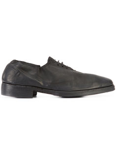 almond toe Derby shoes Guidi
