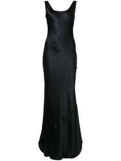 long scoop-back dress  Nili Lotan