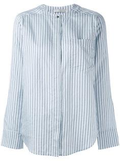 полосатая рубашка с нагрудным карманом Vince