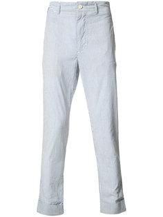 seersucker pinstripe trousers Engineered Garments